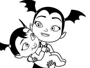 Free Printable Disney Junior Vampirina Coloring Pages For Kids Poppy Coloring Page Disney Coloring Pages Baby Coloring Pages