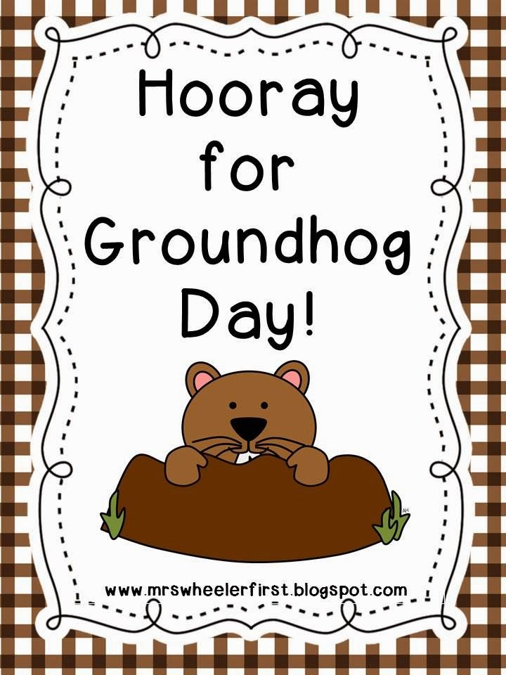 Groundhog Day! | Phil... gotta love him!! | Pinterest