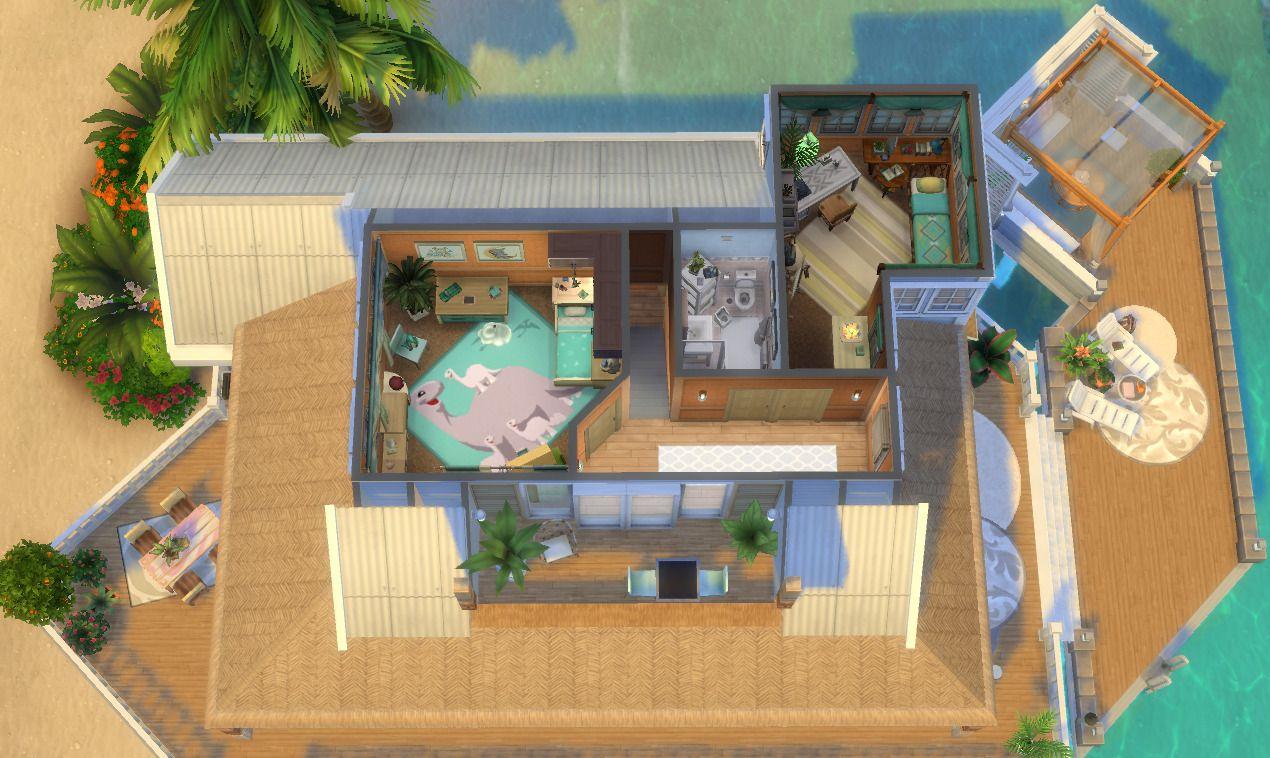 96langerlui99 Sunrise In Sulani Created By 96langerlui99 Sims House Design Sims 4 House Plans Sims 4 House Design