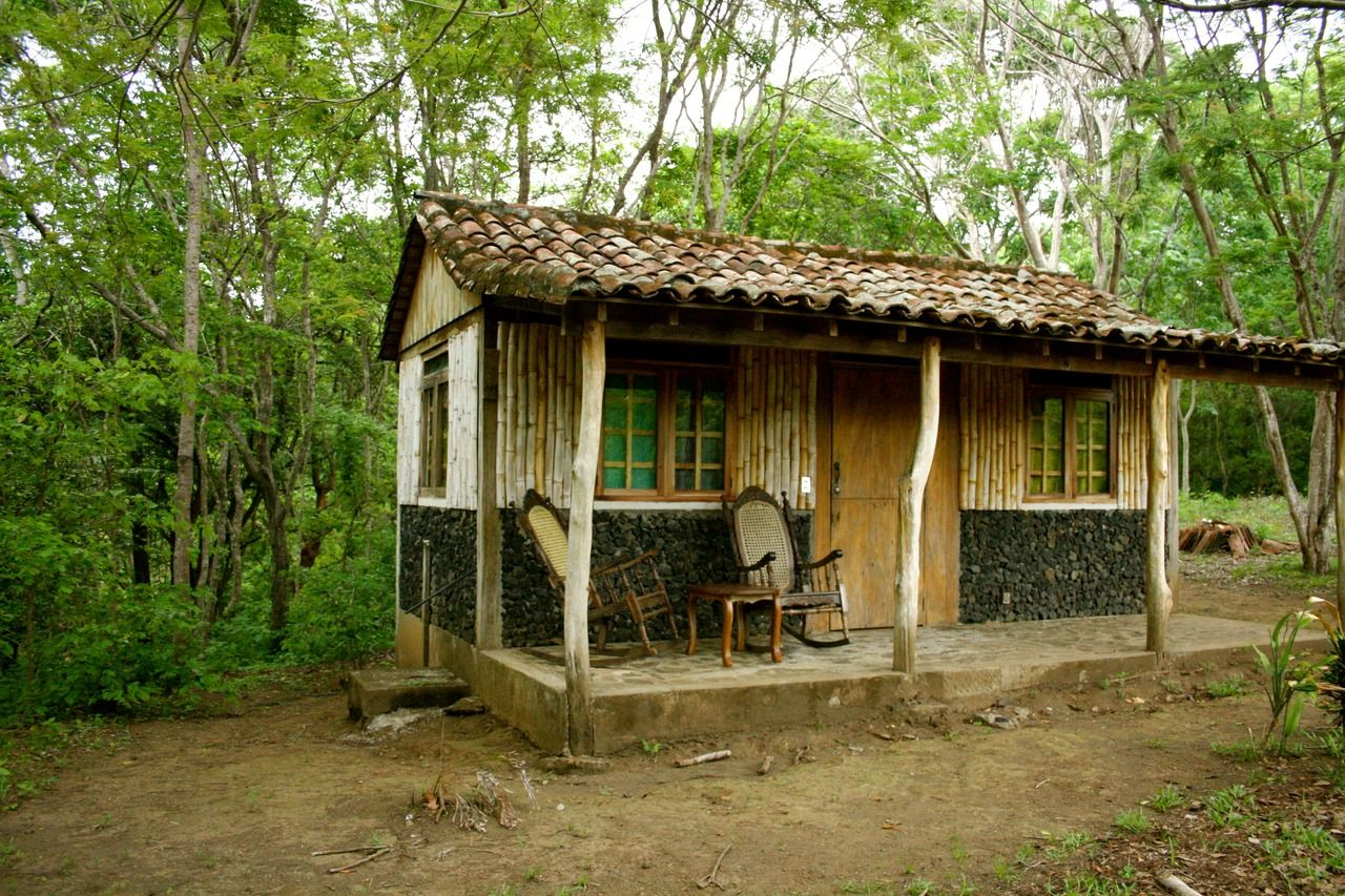 Cabin on an ecological reserve in Masatepe, Nicaragua. Contributed by Alex Schoemann.