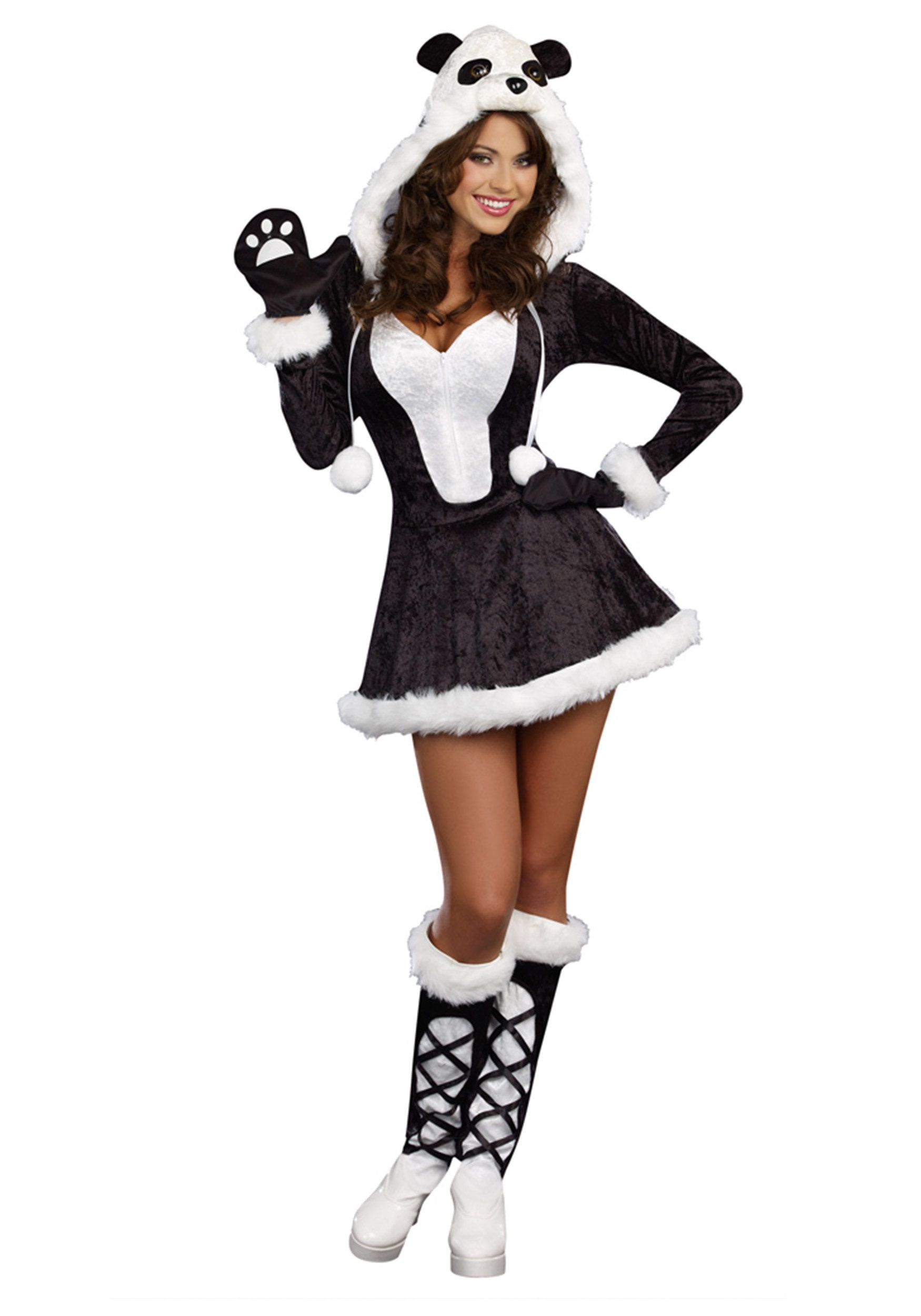 Kid//Adult Bat Woman Girl Zip Front Hood Teddy Halloween Costume Fancy Dress