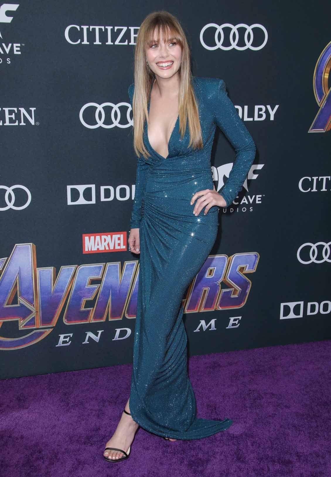 Elizabeth Olsen Attends Avengers Endgame Premiere Los Angeles Celebvegas Elizabeth Olsen Elizabeth Olsen Scarlet Witch Olsen