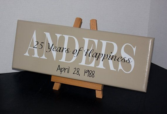 Silver Wedding Anniversary Gifts For Parents: 50th Wedding Anniversary Or 25th Wedding Anniversary