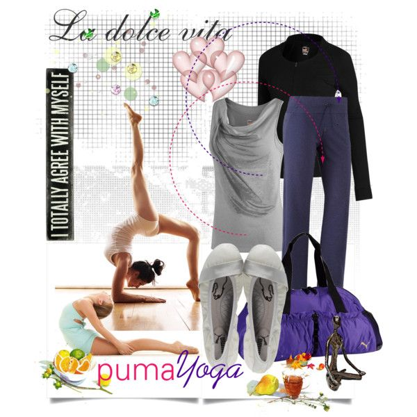Love the top and the shoes - puma-y, created by tamaraza on Polyvore
