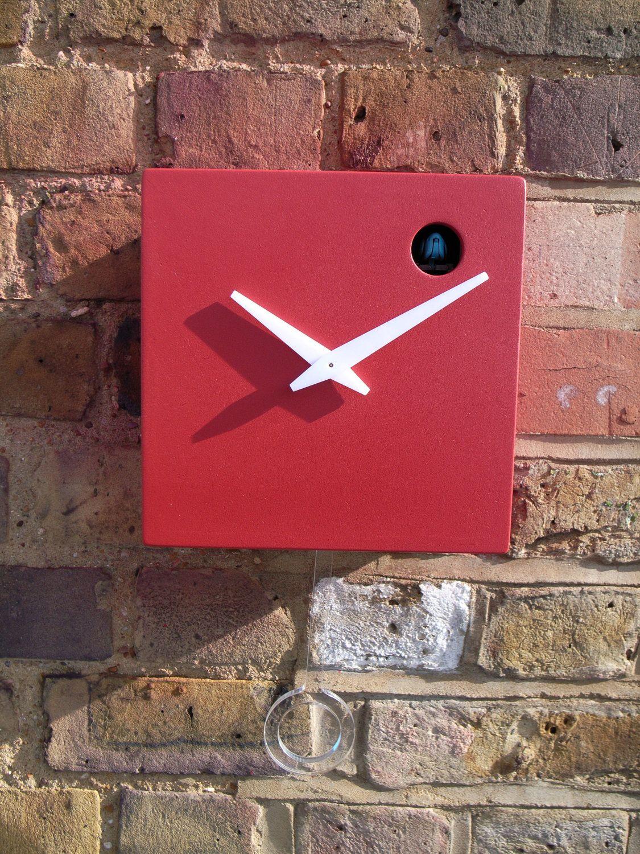 Red Cuckoo Clock