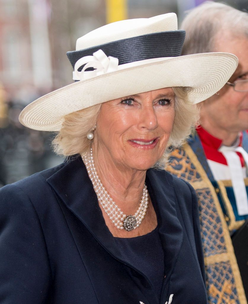British Royals Celebrate Commonwealth With Images Camilla Duchess Of Cornwall Duchess Of Cornwall British Royals
