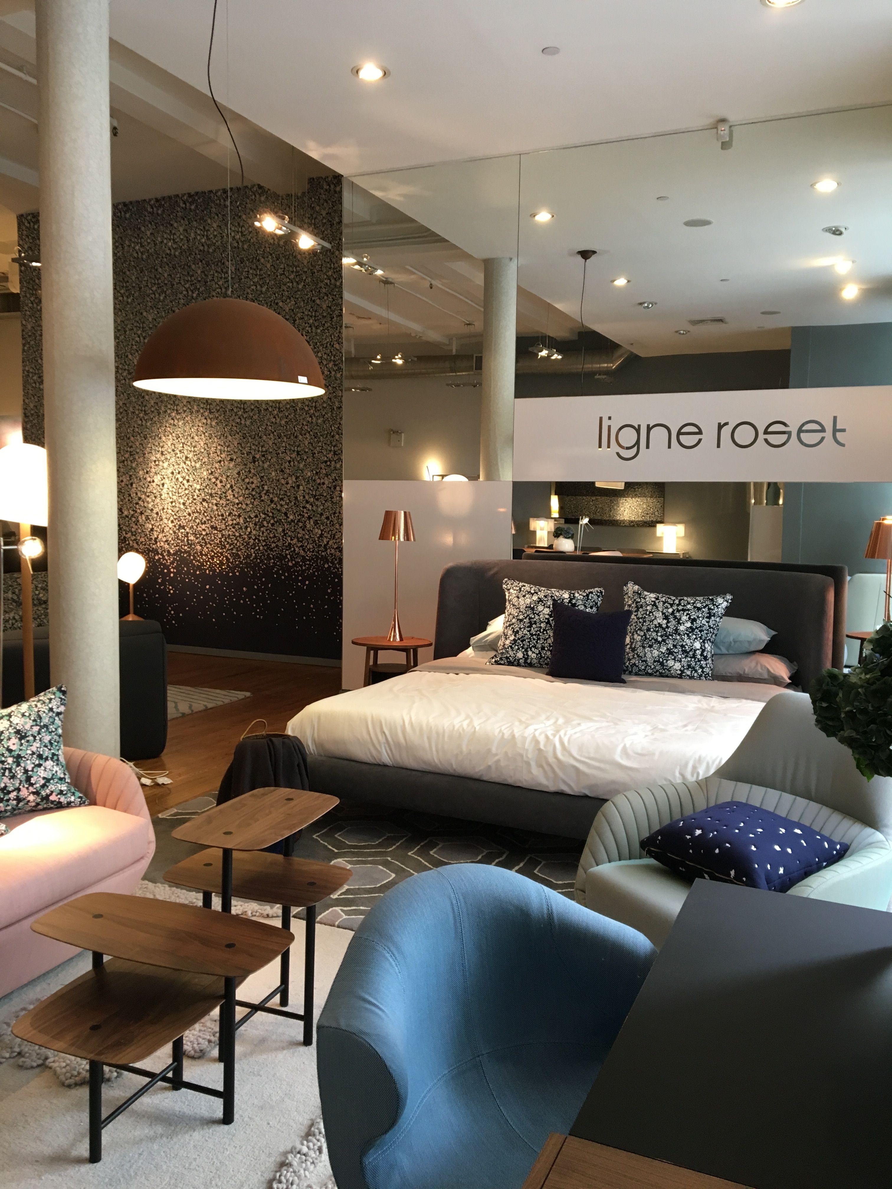 at ligne roset soho for nycxdesign to celebrate the debut of 2lg x custhom for ligne roset. Black Bedroom Furniture Sets. Home Design Ideas