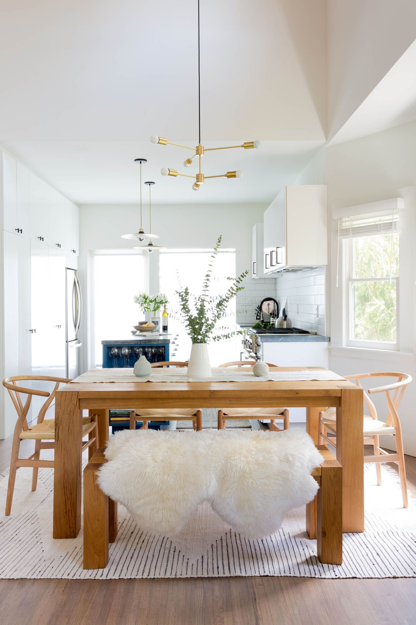 Crisp but Collected in Silverlake | Rue | Dining Room Design Ideas ...
