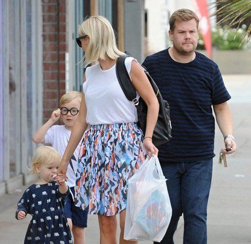 The Late Late Show Host James Corden's Sweet Family