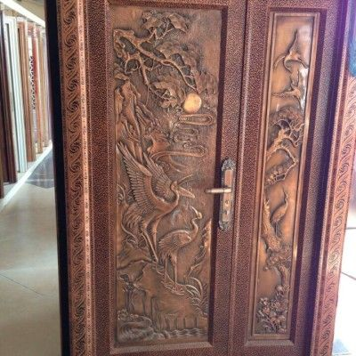 Our Custom Door Company Also Creates Wood Or Iron Security Doors! Rest Easy  Knowing That Our High Quality Doors Are Built To Resist Any And All Threats.