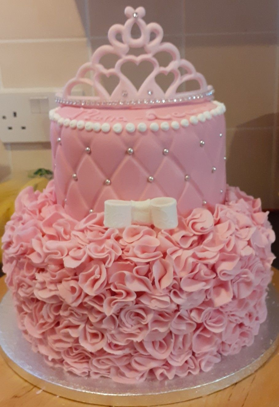Birthday cake for a little princess in 2020 cake