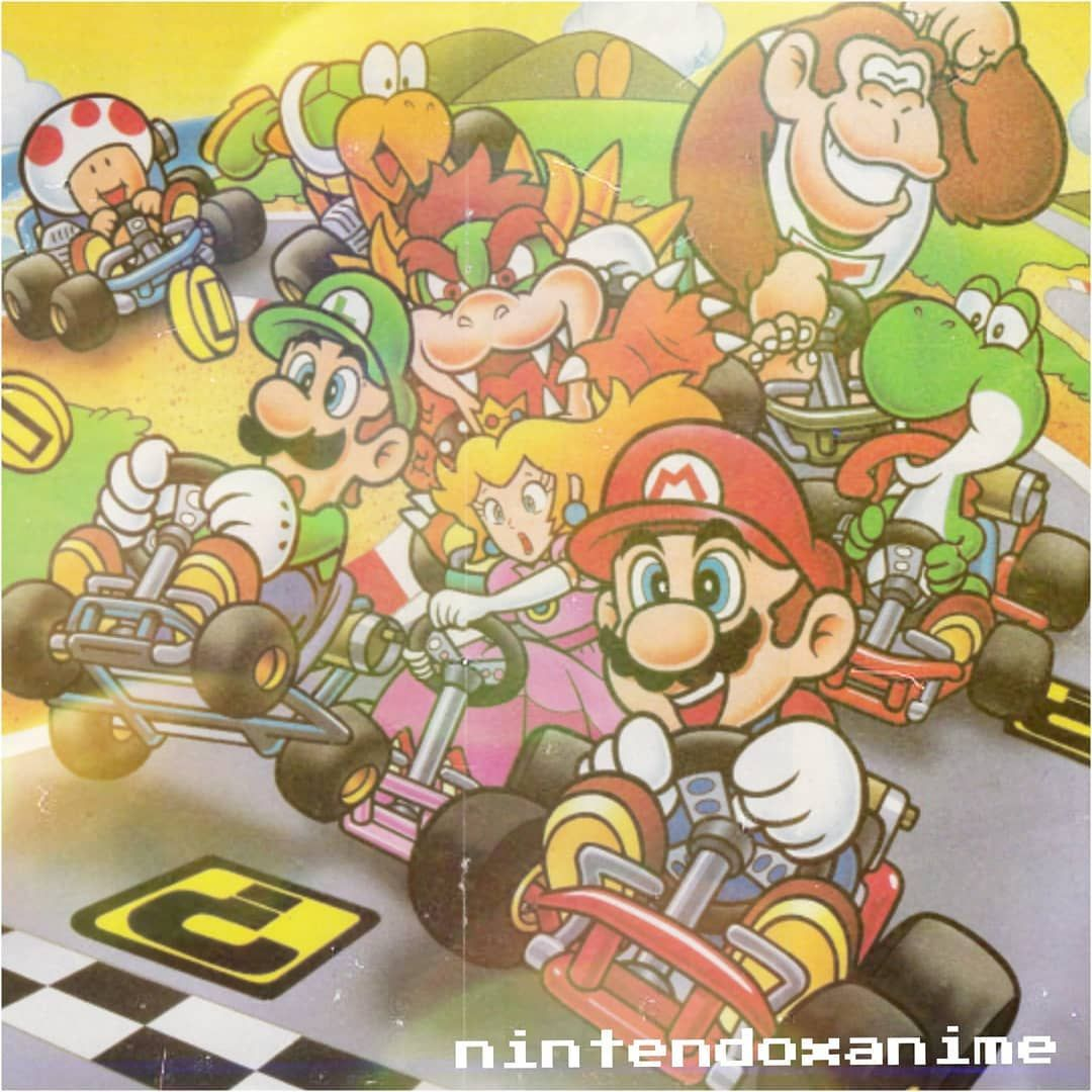 I Love The Mario Kart Games Game Super Mario Kart