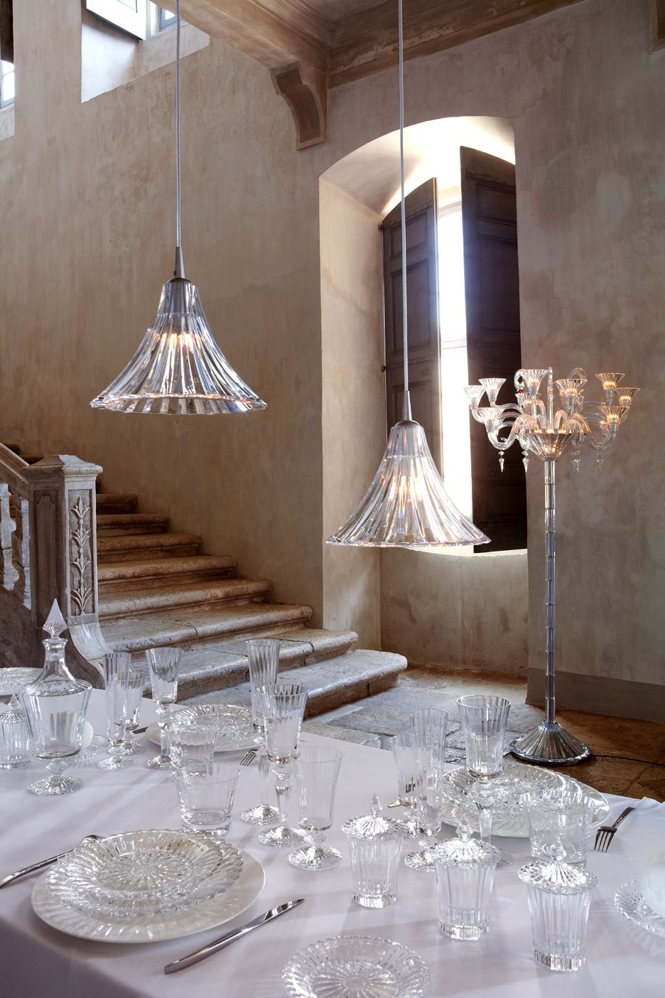 Baccarat Mille Nuits candelabrum | Lighting | Pinterest | Products