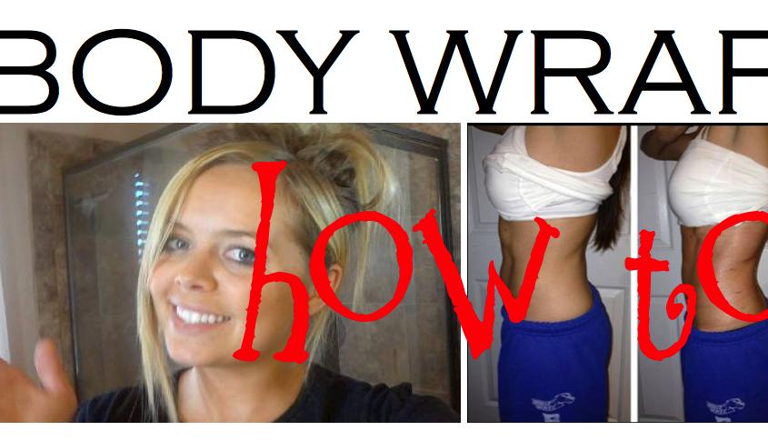 BODY WRAPS, how to apply
