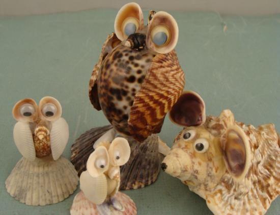 Seashell crafts kids crafts pinterest craft shell for Seashell ornaments craft