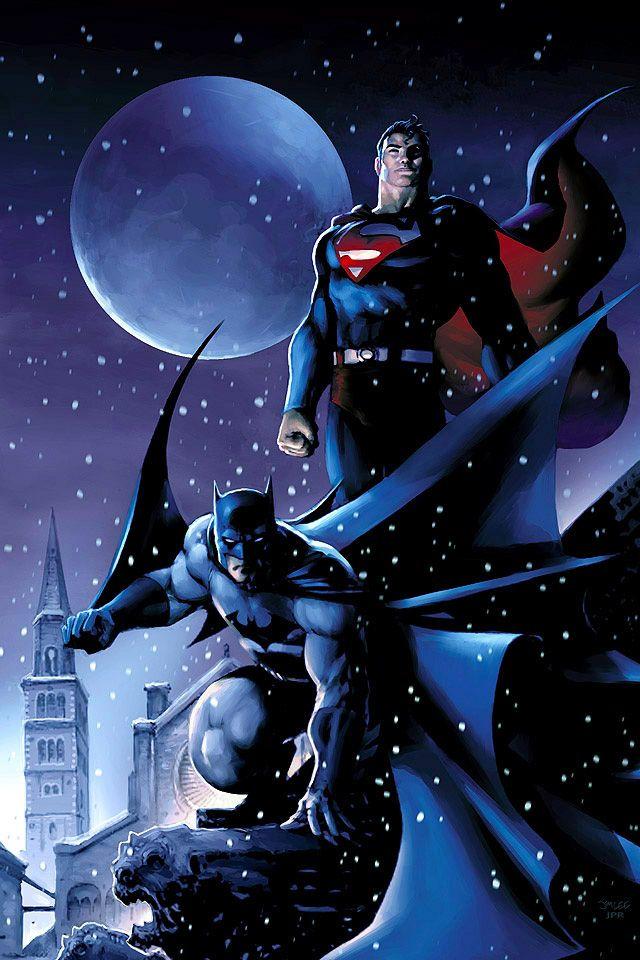 Batman and Superman - iphone 5 wallpapers   batman   Batman, Batman, superman, Batman vs