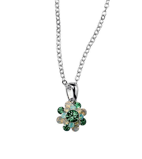 www.liasophia.com/monicawood Crystal Bouquet Necklace