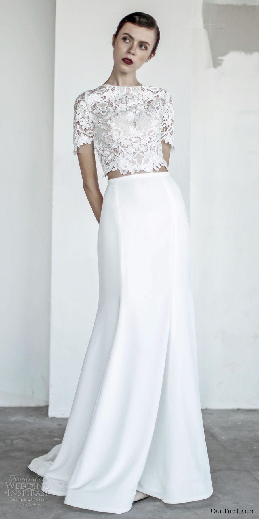 "OUI The Label 2017 Wedding Dresses — ""New Romantics"" Bridal | Bodice ..."