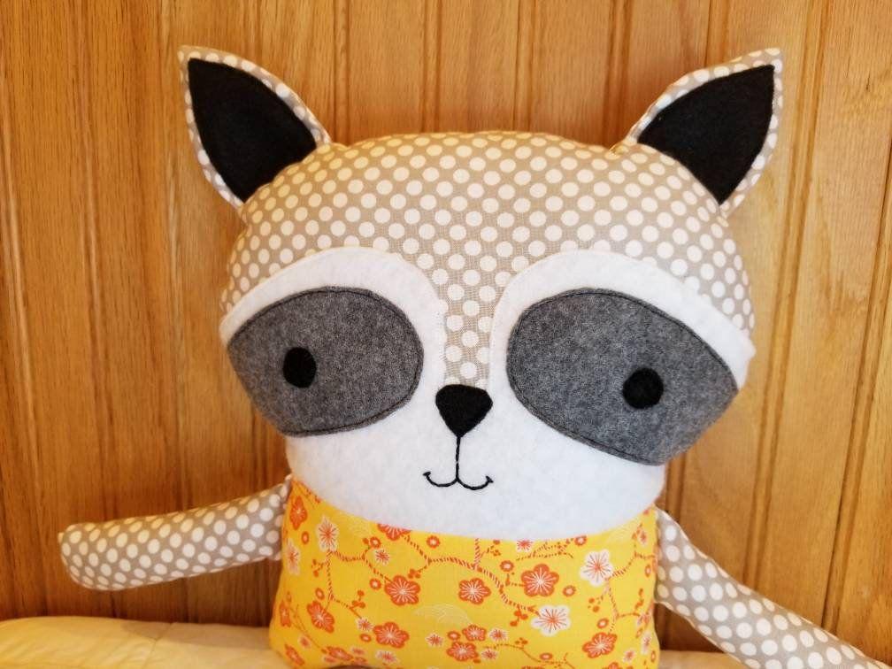 Stuffed Animal Raccoon Stuffed Animal Baby Toy Raccoon Softie