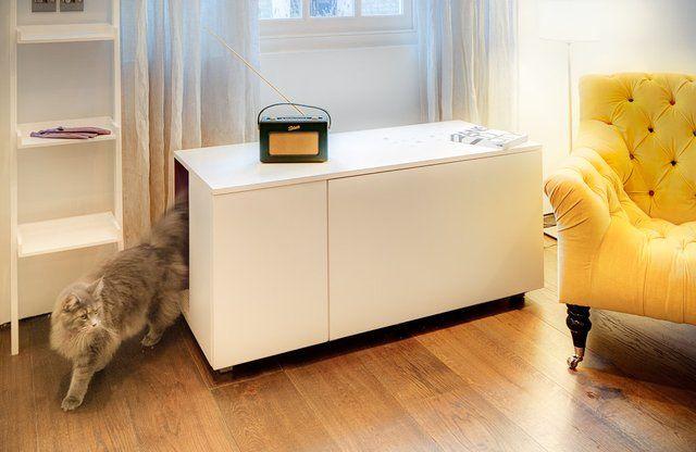 Catteux Litter Box Cabinet