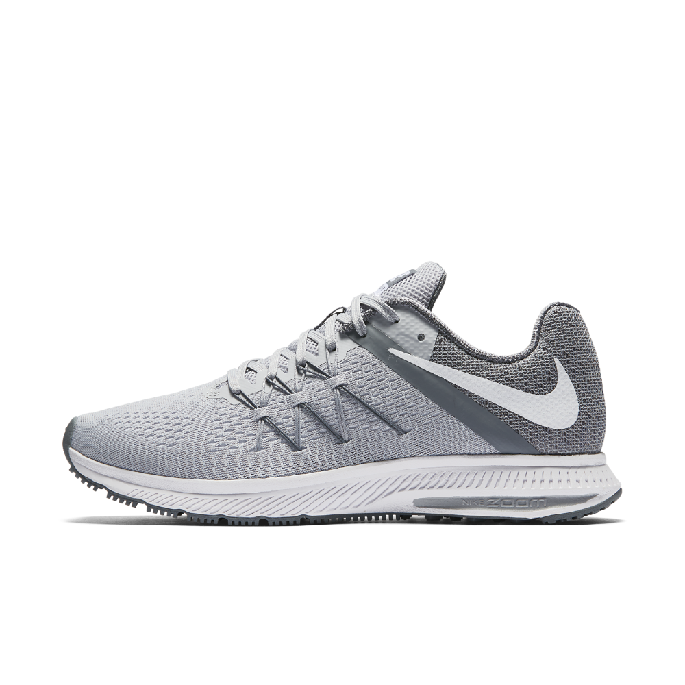 bf79c66a9fa57 ... coupon code for nike zoom winflo 3 mens running shoe size 9.5 grey  clearance sale 01516
