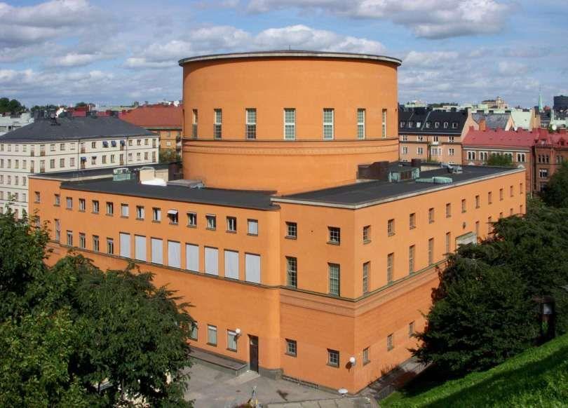Stockholm City Library Scandinavian Architecture European Architecture Stockholm City