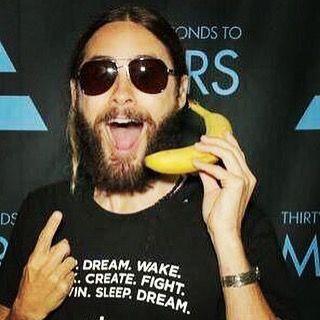 I'm callin you on yo bullshit xo #bananaphone by jaredleto
