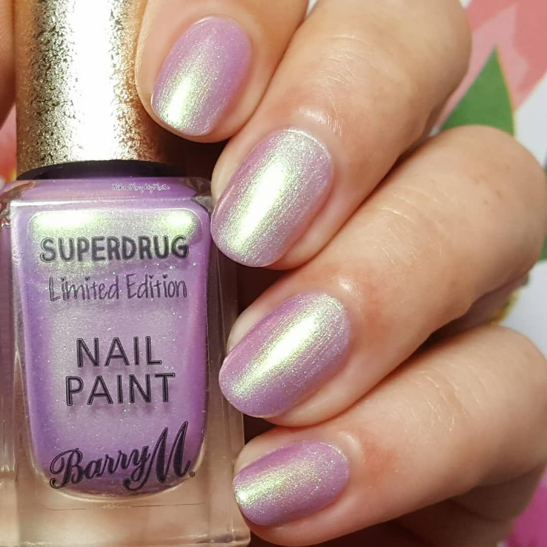 Barrym Boy Bye Superdrug Limited Edition Pink Polish Nail Polish Nails