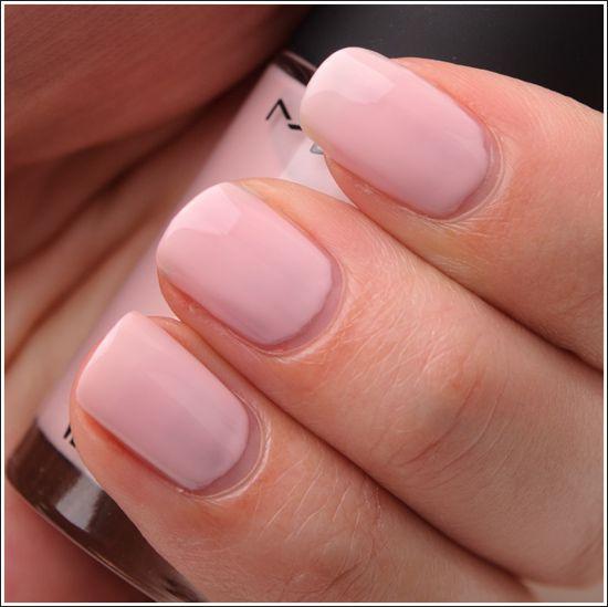 MAC Midsummer's Dream Nail Lacquer: nude/pink nail for more fashion forward/runway pieces