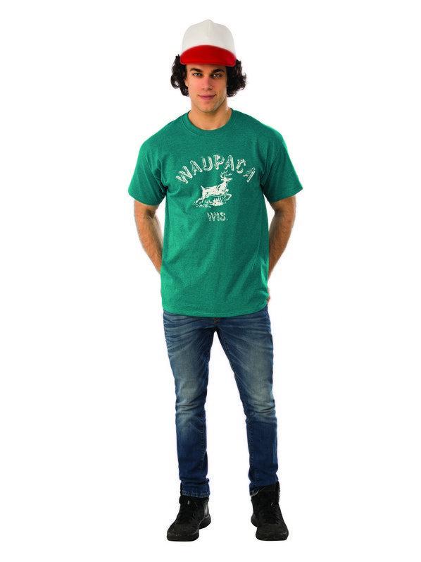 Stranger Things Dustin\u0027s Waupaca Shirt for Men Netflix Costume - 4 man halloween costume ideas
