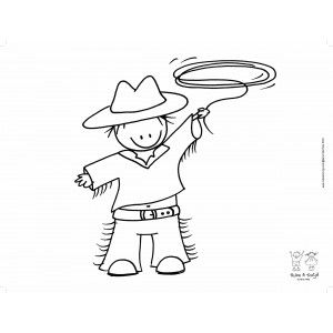 Placemat Rube & Rutje Cowboy
