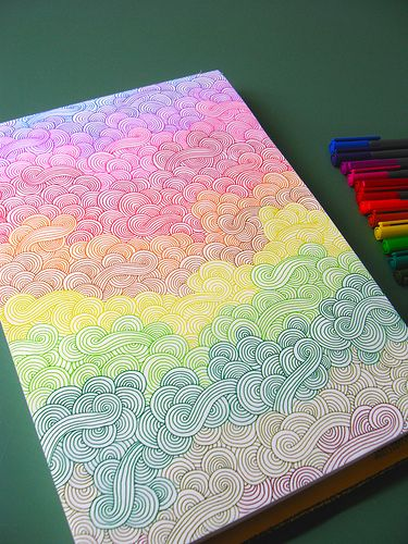 http://www.flickr.com/photos/helloangel/                    rainbow doodles