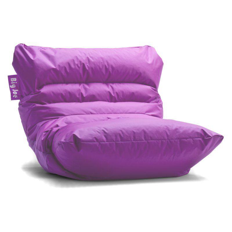 Big Joe Roma Bean Bag Chair Radiant Orchid 0657624 Bean Bag