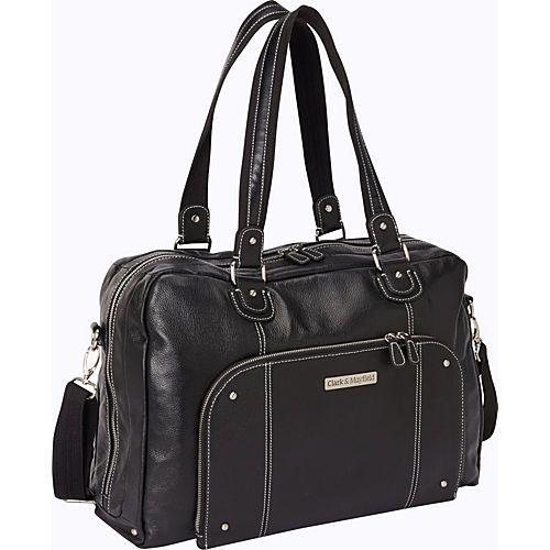 56473eb5cad6 Clark & Mayfield Morrison Leather Laptop Handbag 18.4