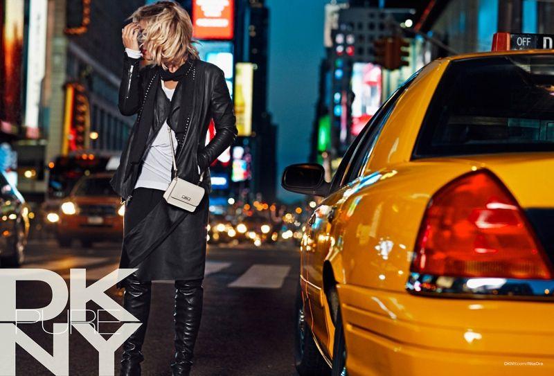 Rita Ora for DKNY Resort 2014 Campaign