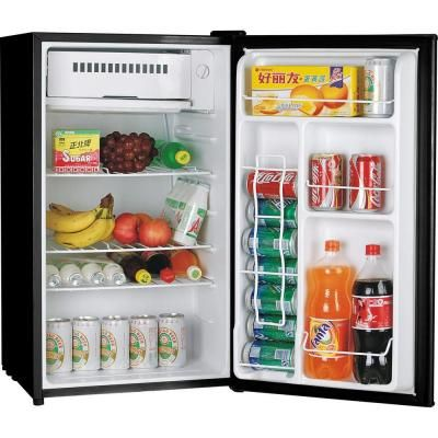 Igloo 3 2 Cu Ft Mini Refrigerator In Black Fr320 Black The Home Depot Mini Fridge Mini Fridges Cool Mini Fridge
