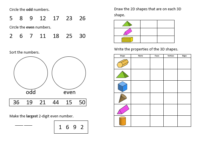 Year 2 One A Day Revision Booklet Teaching Resources Teaching Inspiration Teaching Resources Teaching