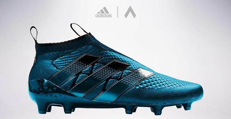 Graphic designer settpace has created seven unique laceless Adidas Ace GTI  Concept Boots. d816dcf9dbb35