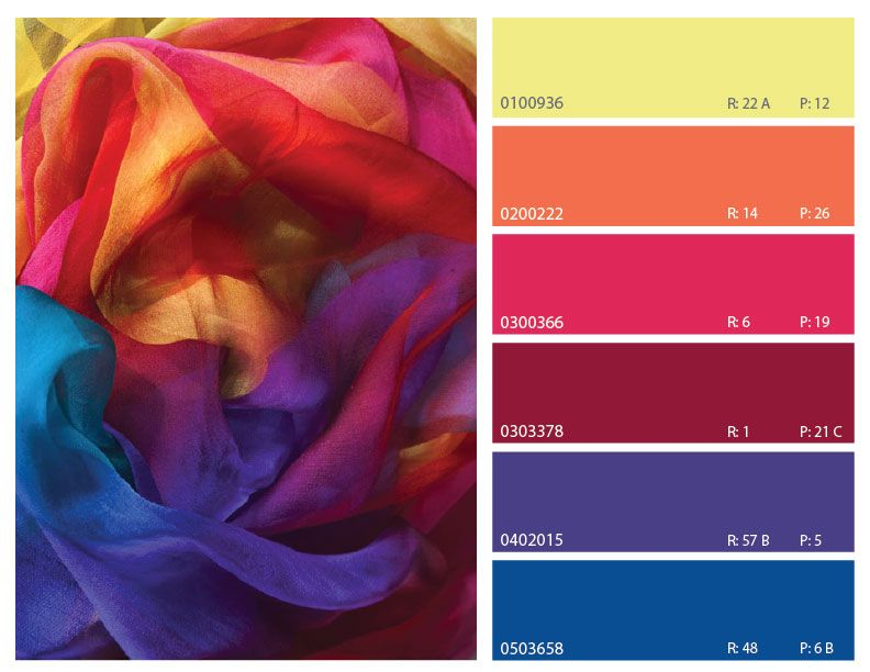 colorful color combinations, red blue and yellow color ...