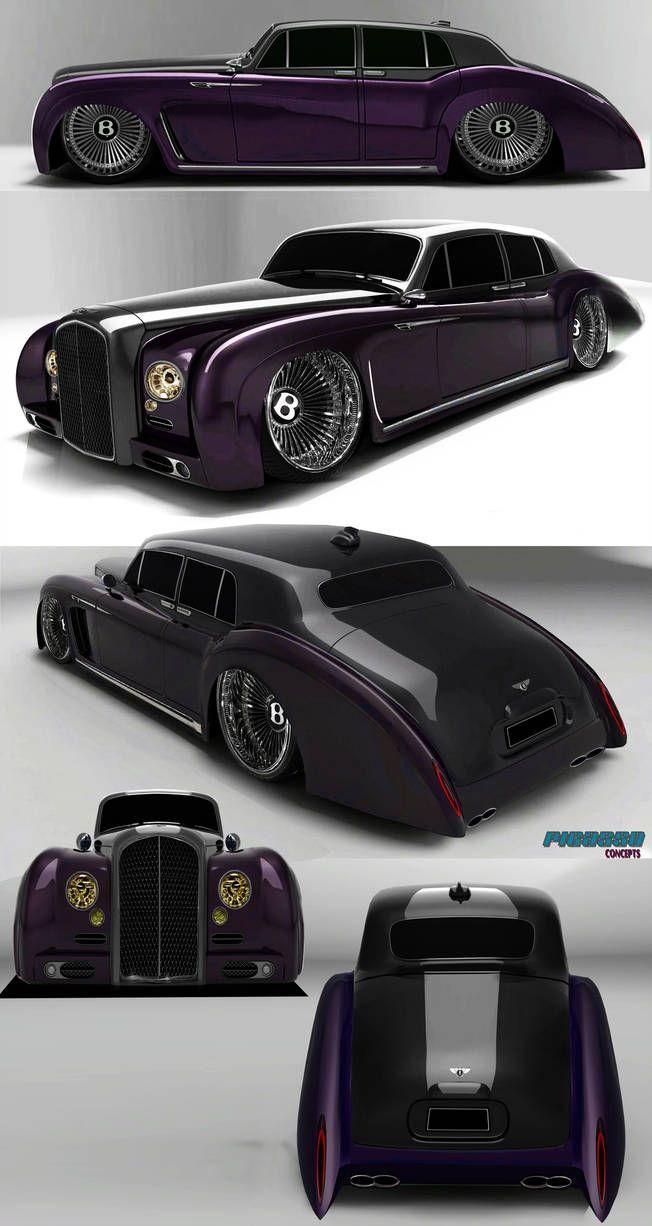 Bentley-custom 1960 artworks by raymondpicasso by raymondpicasso on DeviantArt