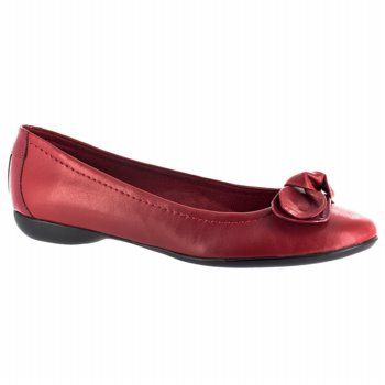 Easy Street Aviator Shoes (Red) - Women's Shoes - 7.0 D