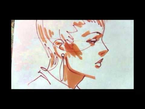 ▶ More fashion illustrations from Yelen Aye - YouTube