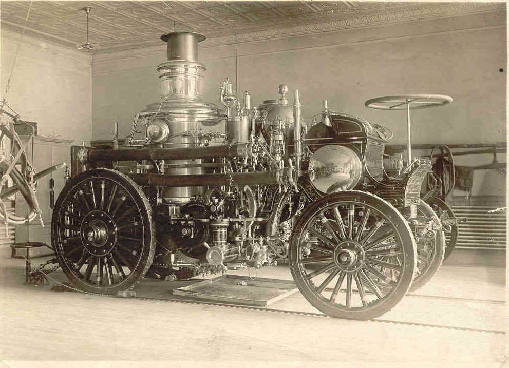 steam power - Google Search. James Watt created the Steam Engine in 1775, and it was great invention because it was easier to get around that way.