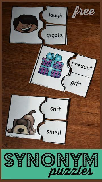 FREE Synonym Puzzles