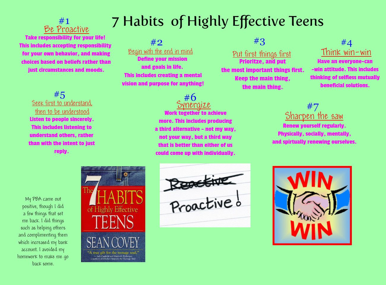 7 Habits Teens Quotes