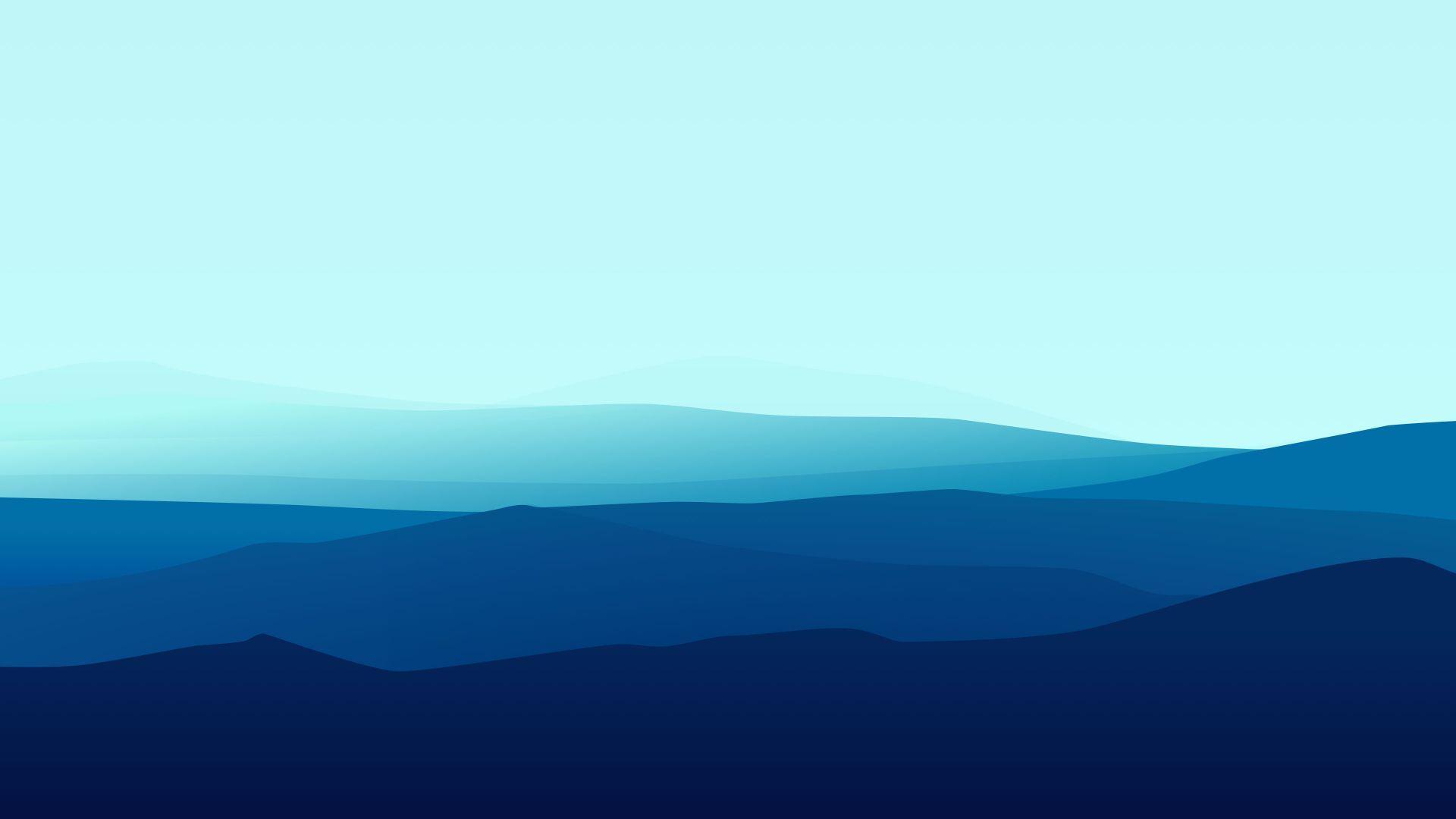Landscape Flat 4k 5k Fog Iphone Wallpaper Forest Blue Horizontal Iphone Wallpaper Landscape Minimalist Desktop Wallpaper Minimalist Wallpaper
