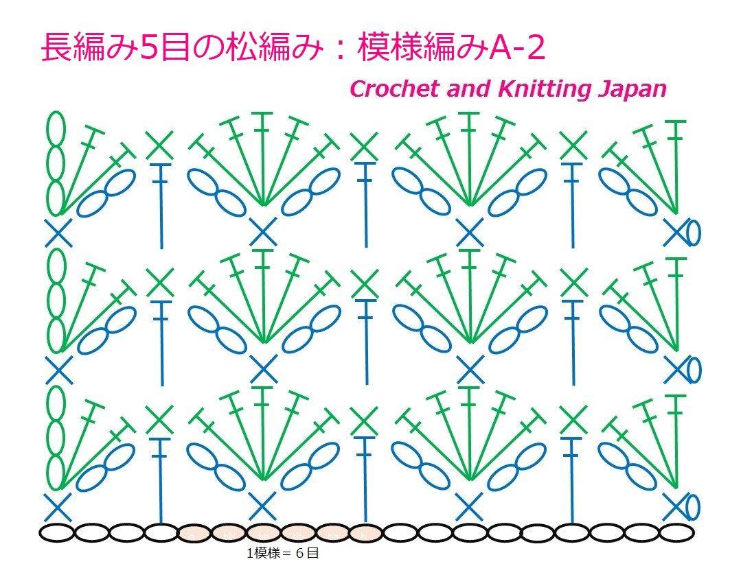 かぎ針編みのモチーフ、花、模様編み、コードその他の編み方を、無料編み ...