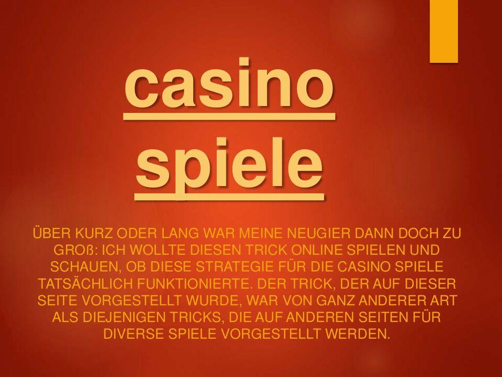 Manipulierte Casino Software