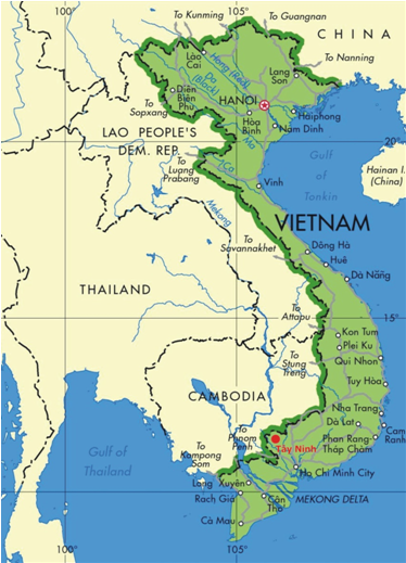 tay ninh province | Tay Ninh province is south   western gateway
