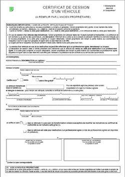 Image Result For Declaration De Cession De Vehicule Remplir Par Le